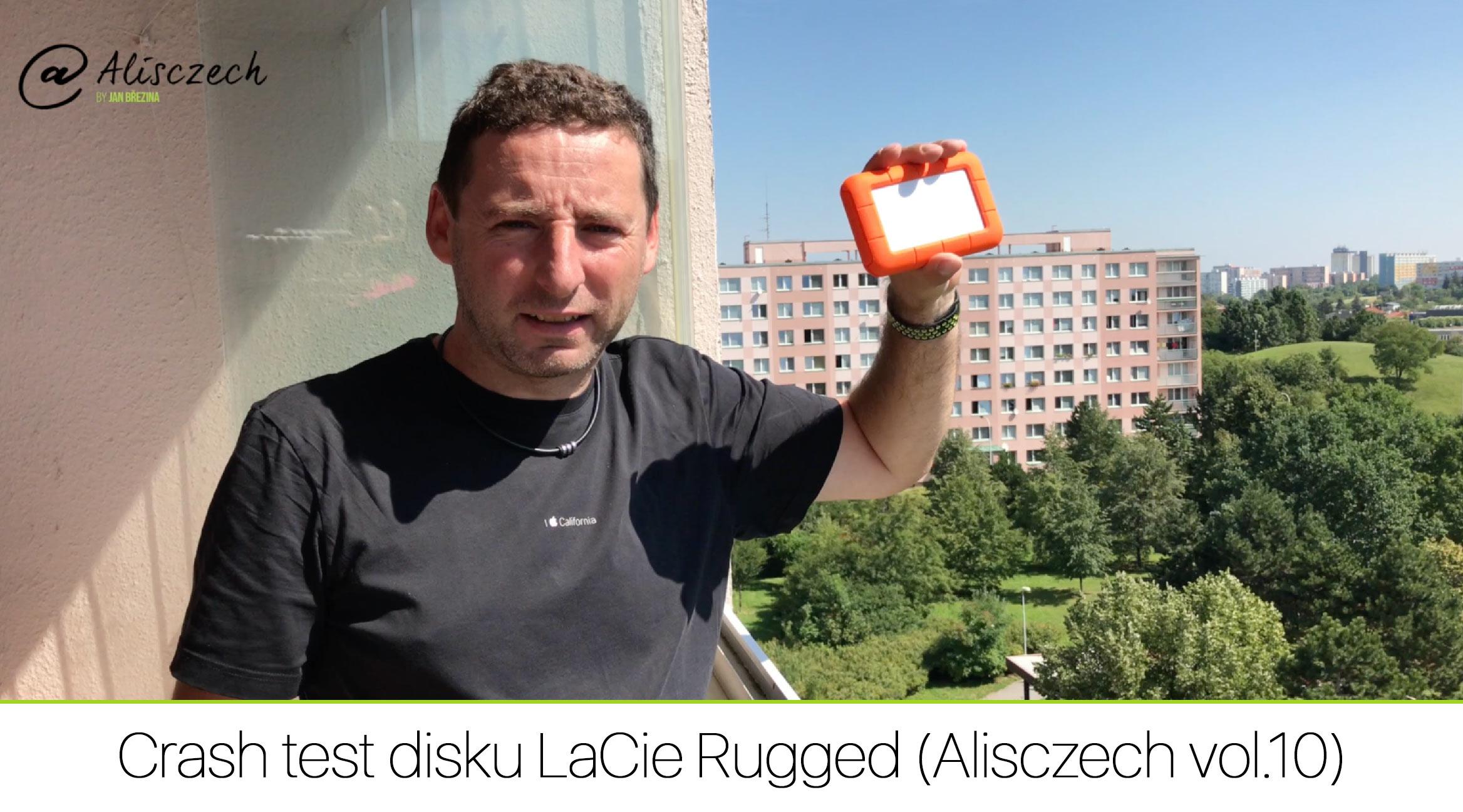 Crash test disku LaCie Rugged (Alisczech vol.10)