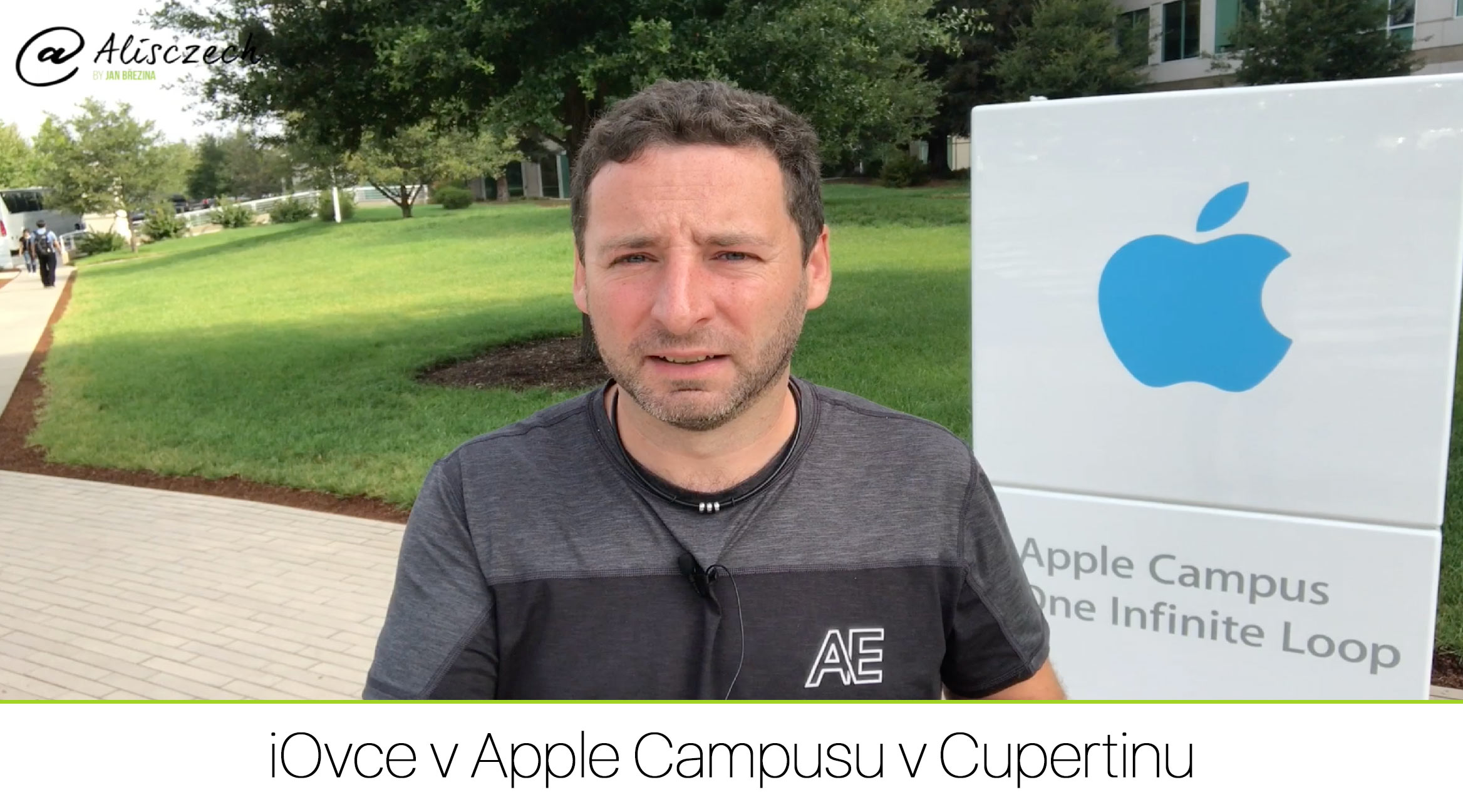 iOvce v Apple Campusu v Cupertinu