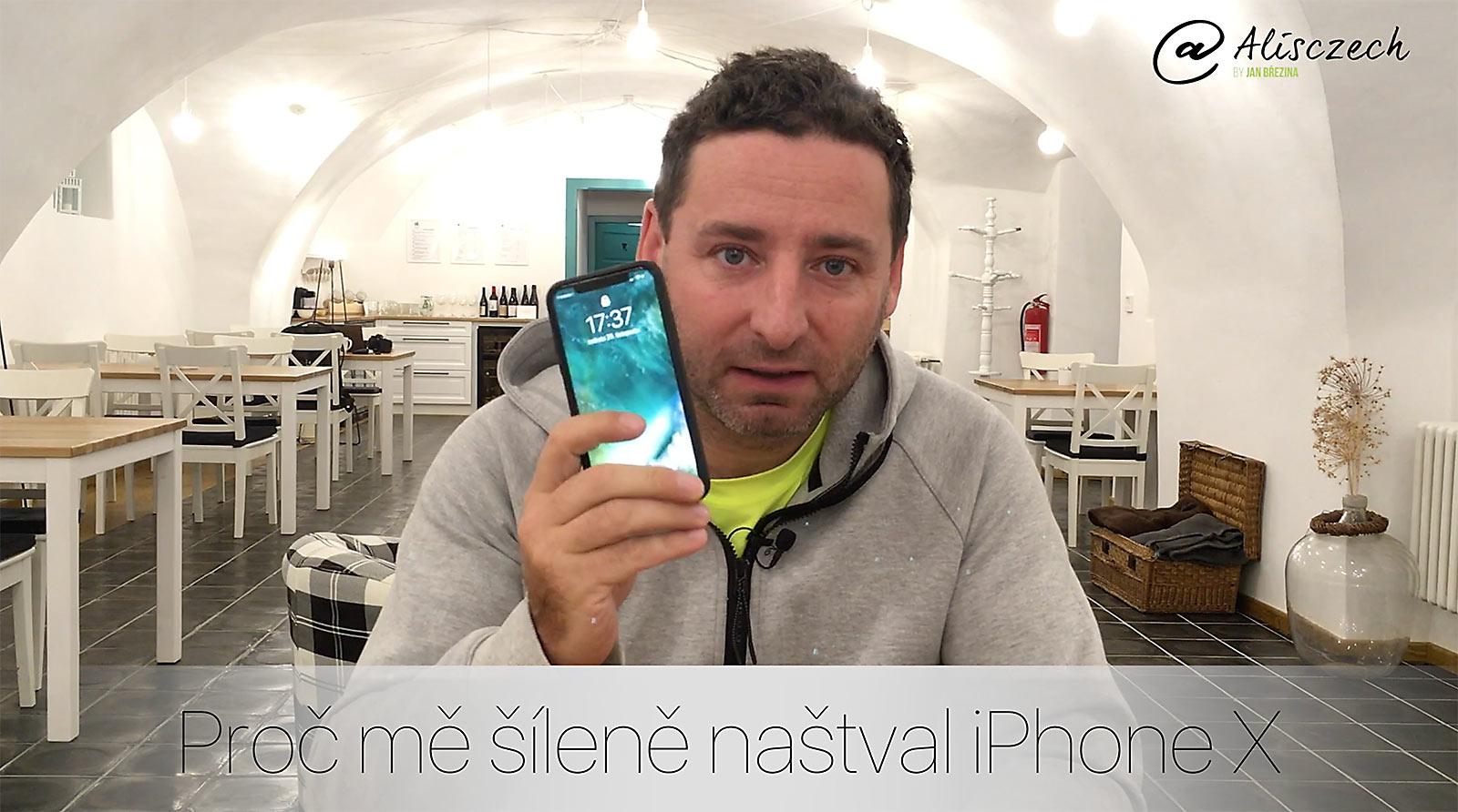 Proč jsem šíleně naštvaný na iPhone X?