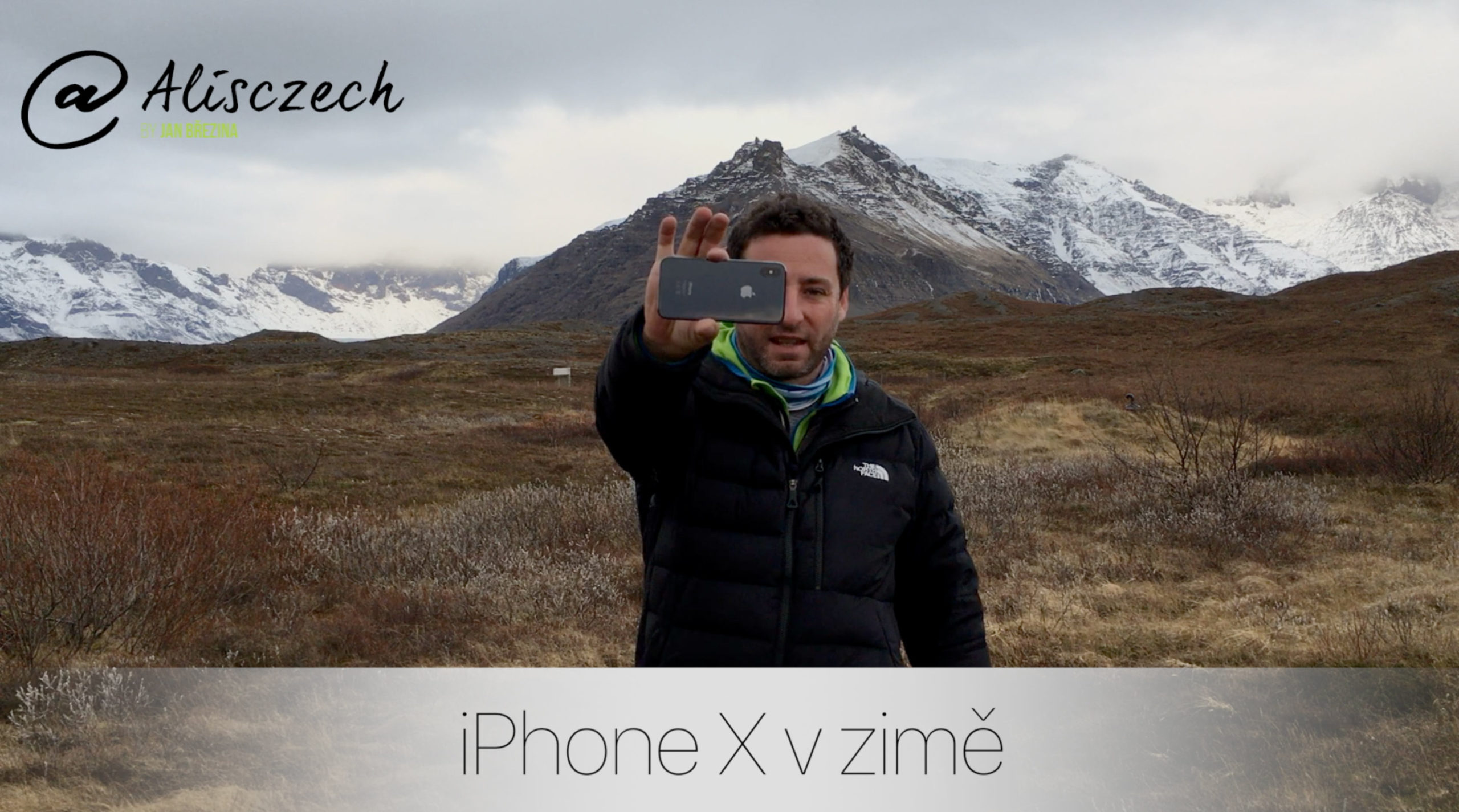 iPhone X v zimě