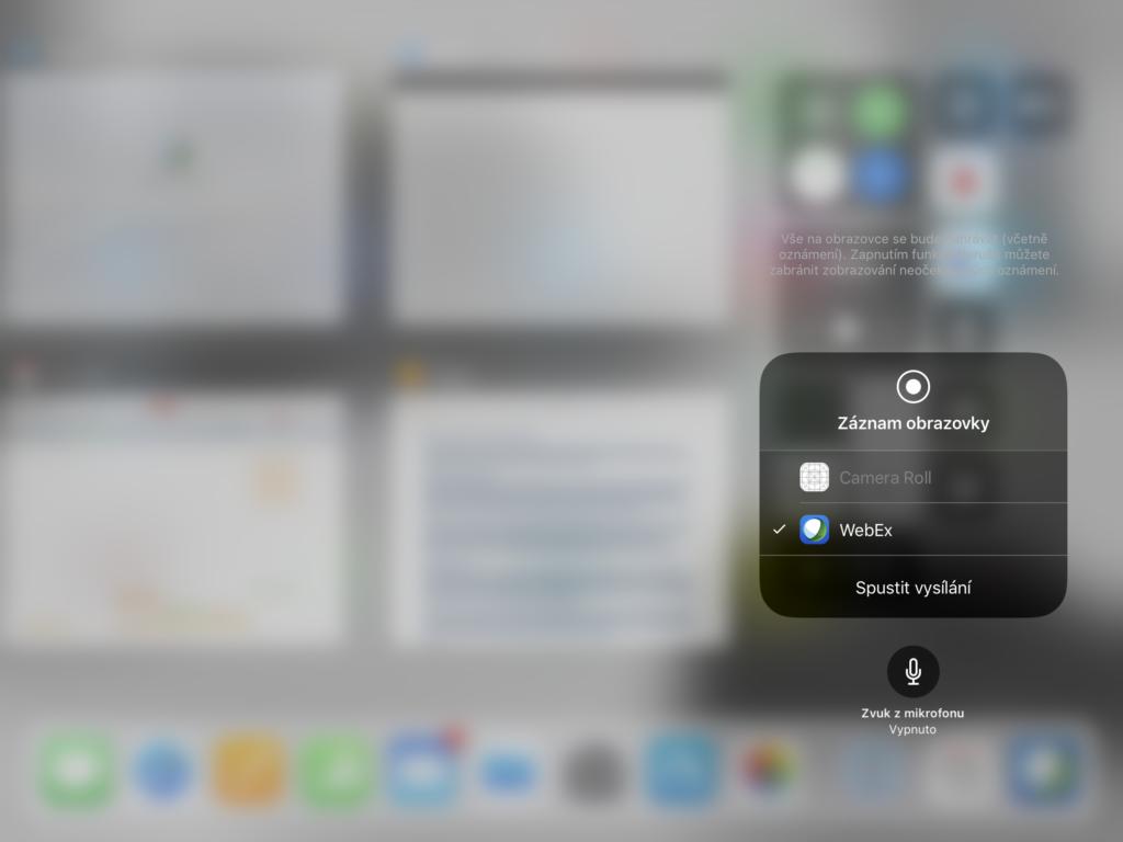 Webex iOS