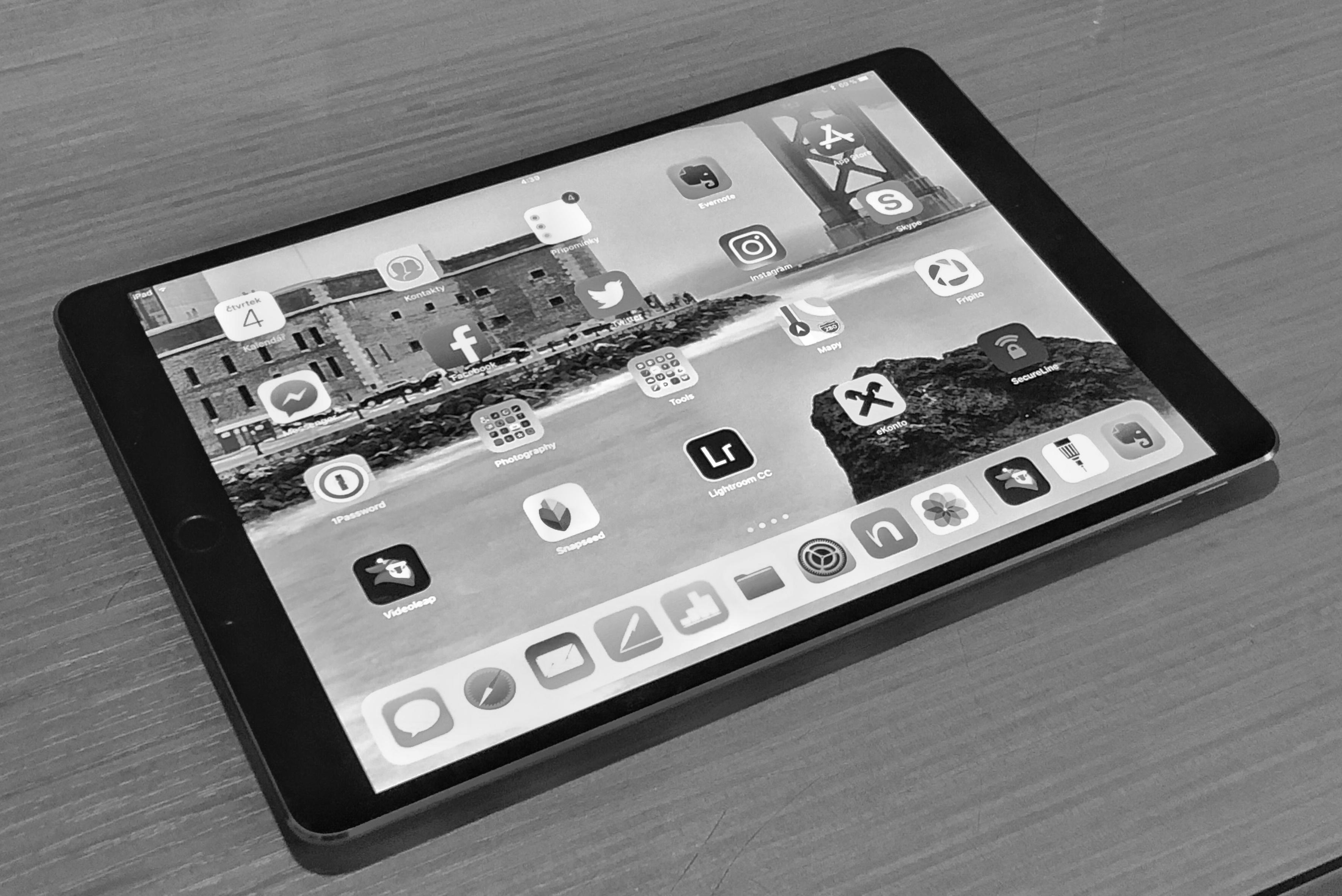 iPad a minimalismus