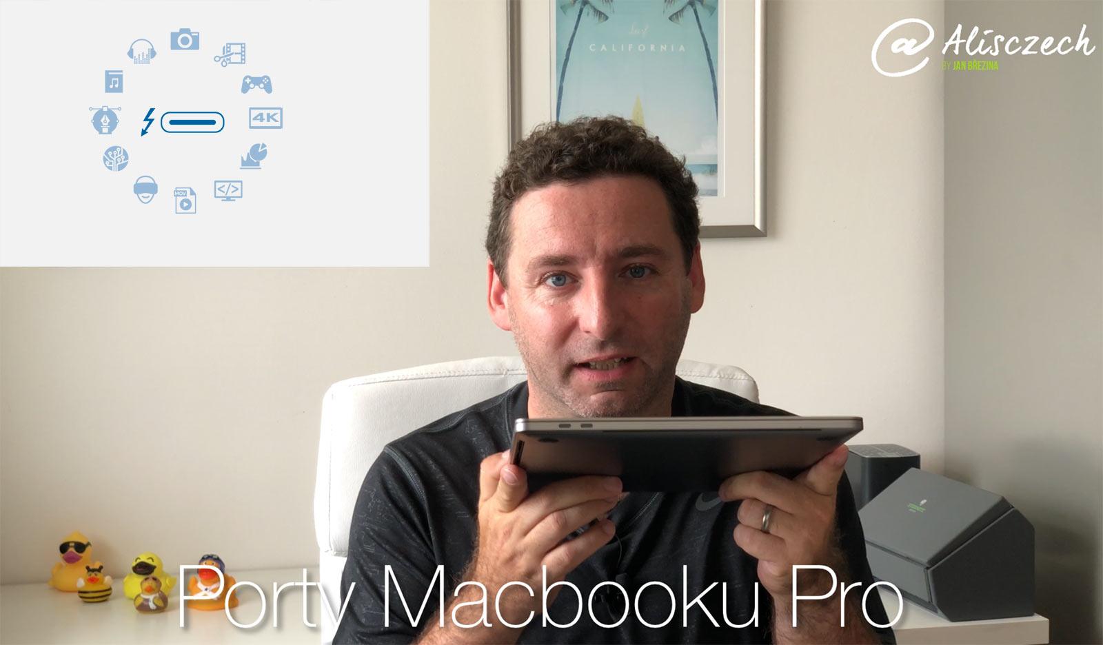 Porty Macbooků Pro