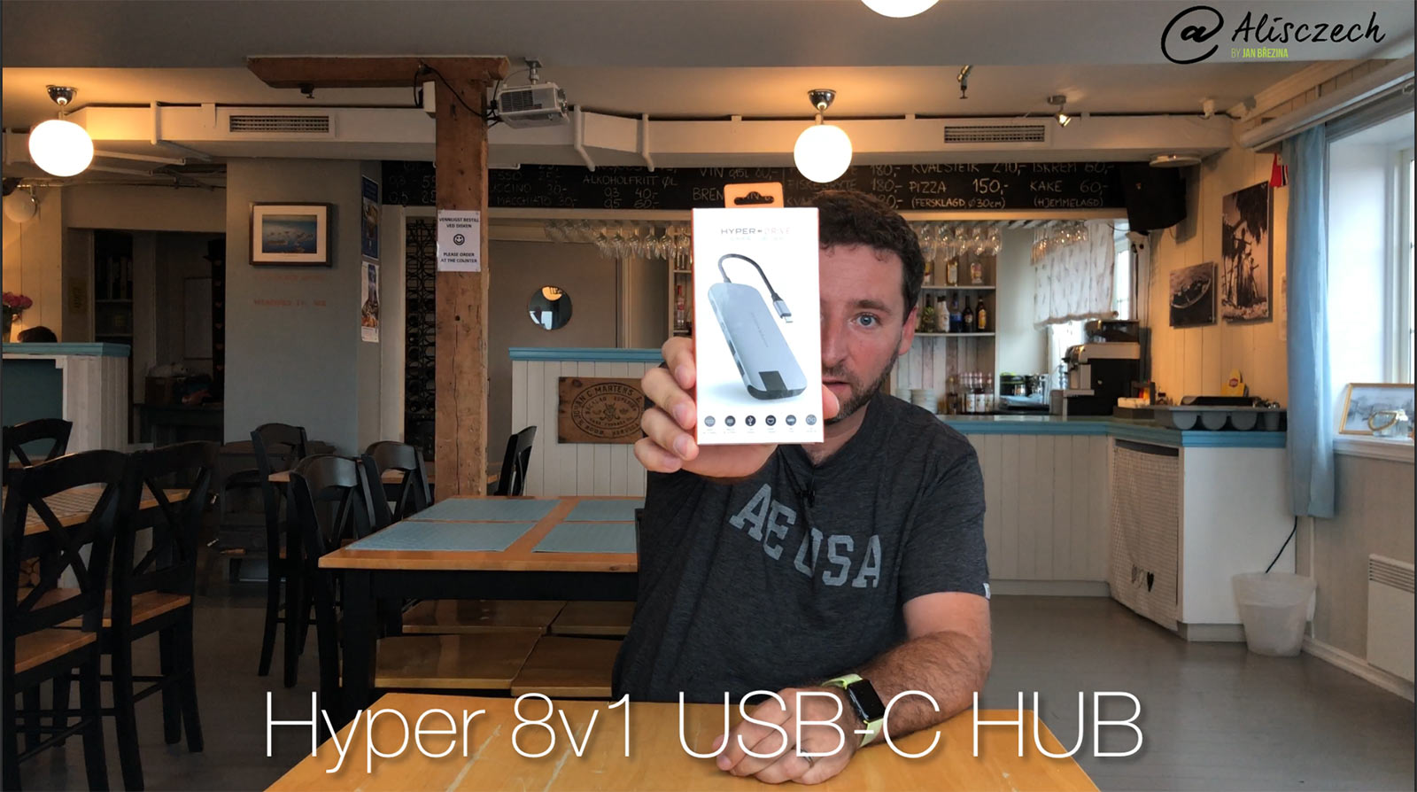 Hyper USB-C HUB 8v1