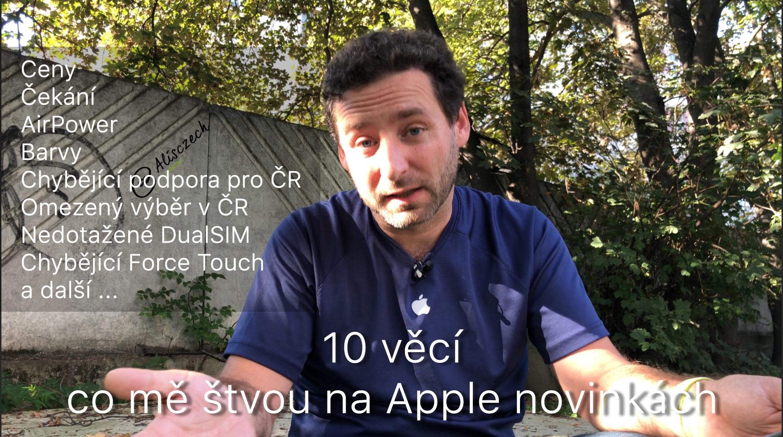 Co mě štve na Apple novinkách
