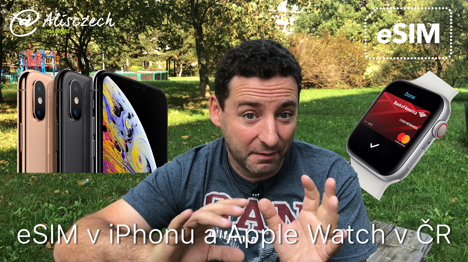 eSIM pro Apple Watch v ČR