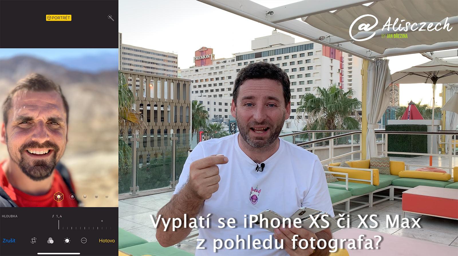 Vyplatí se upgrade na iPhone XS či XS Max z pohledu fotografa?