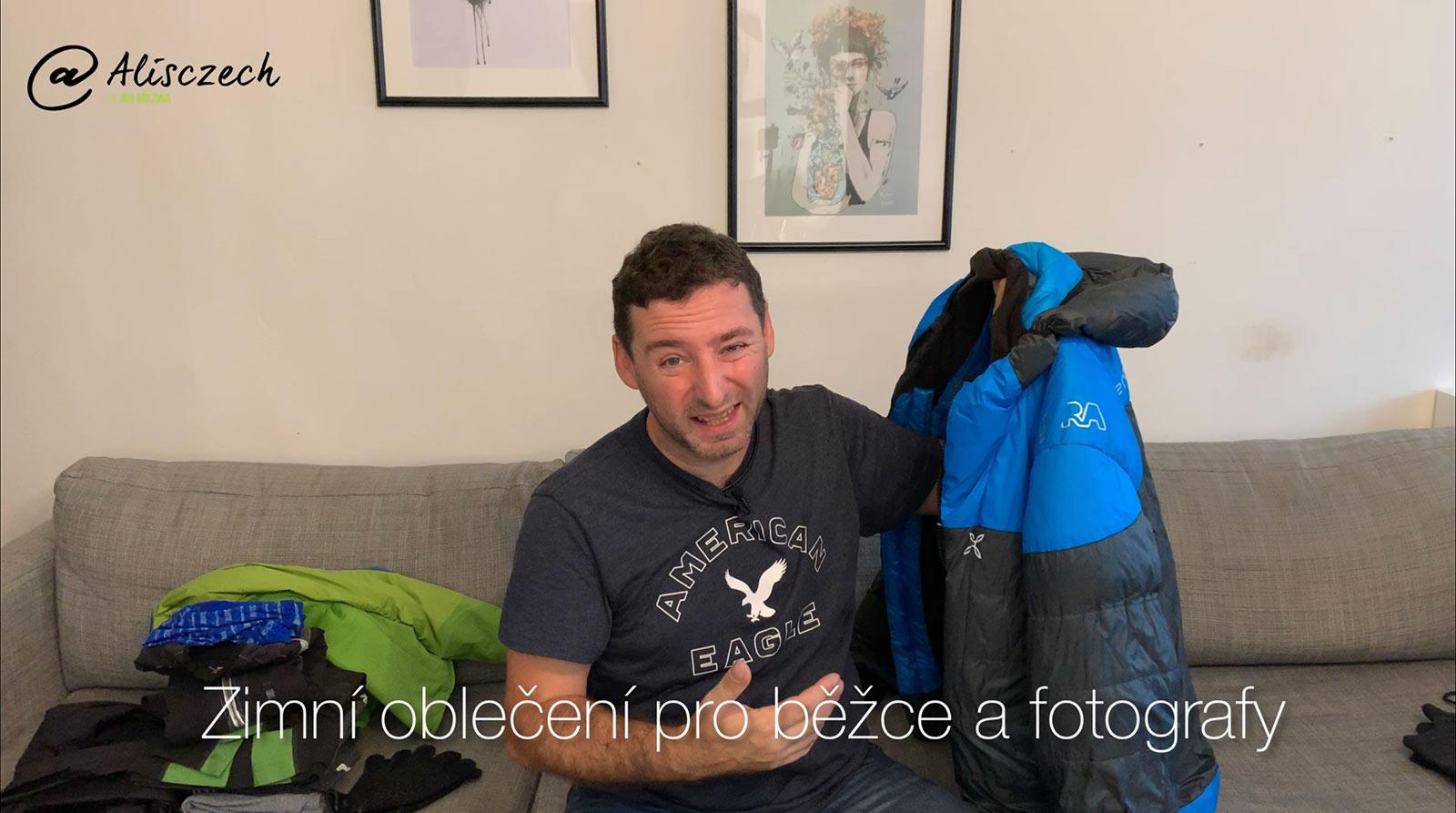 Zimní oblečení pro běžce a fotografy