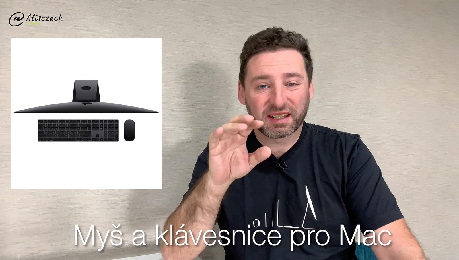 Klávesnice a myš pro Mac