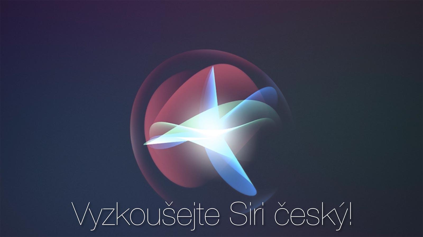 Siri v češtině