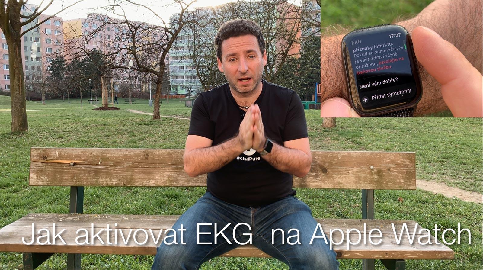 Jak aktivovat EKG na Apple Watch