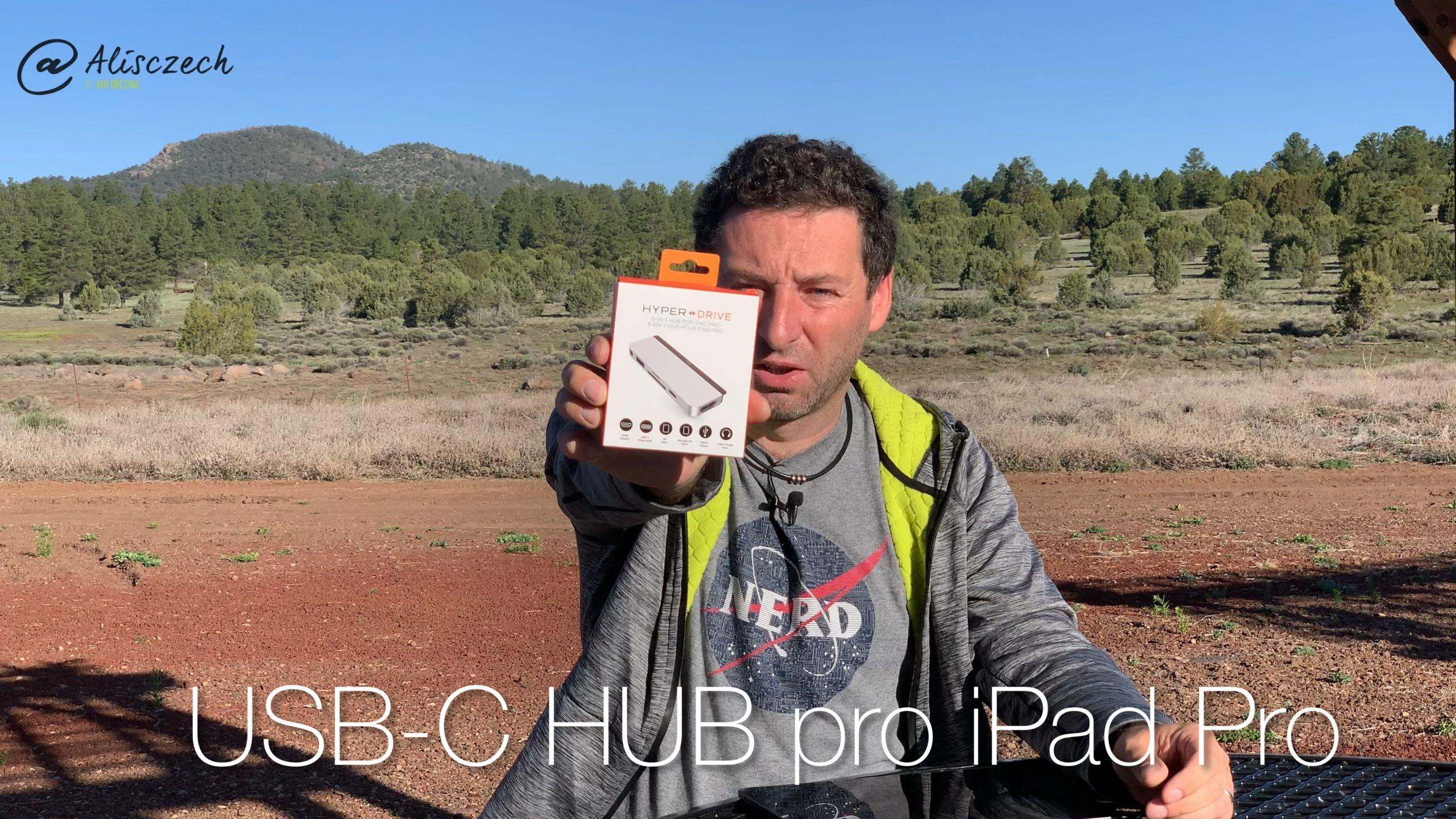 Hyper USB-C HUB pro iPad Pro
