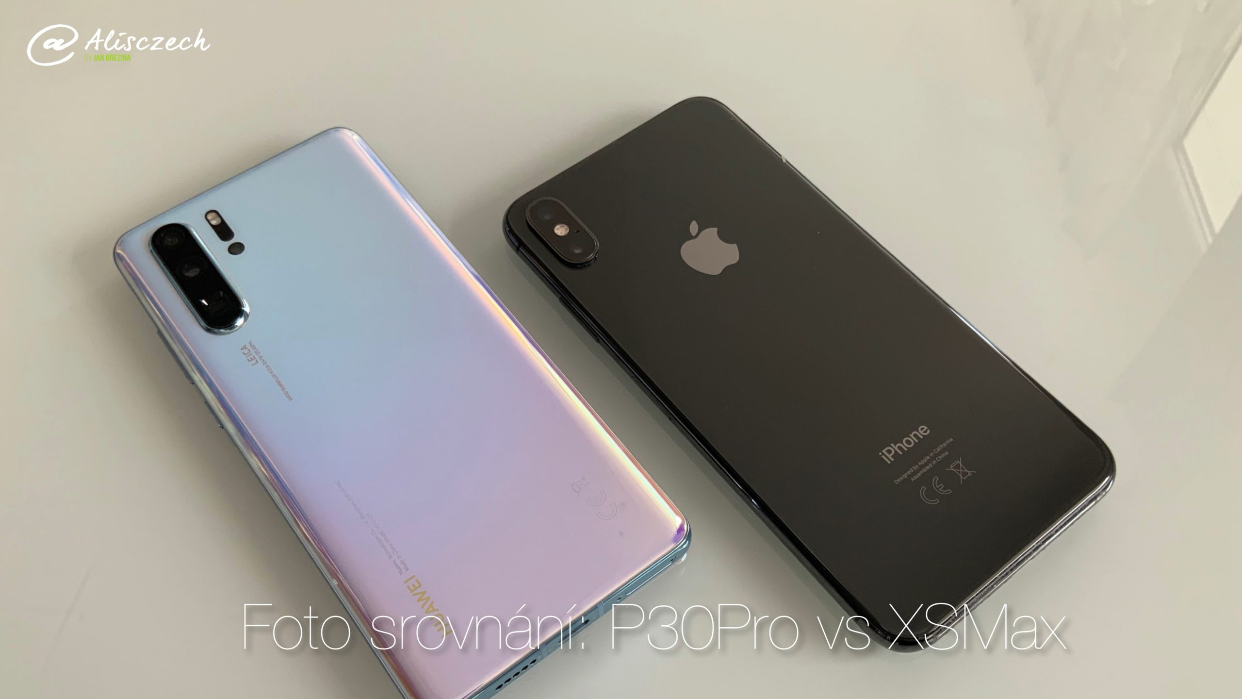 P30 Pro vs iPhone XS Max