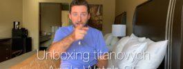 Unboxing titanových Apple Watch S5 [4K] (Alisczech vol. 237)