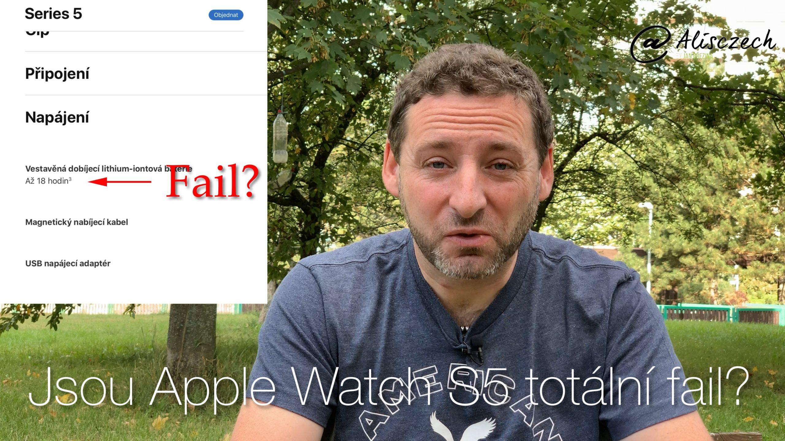 Jsou Apple Watch Series 5 totální fail? [4K] (Alisczech vol. 234)