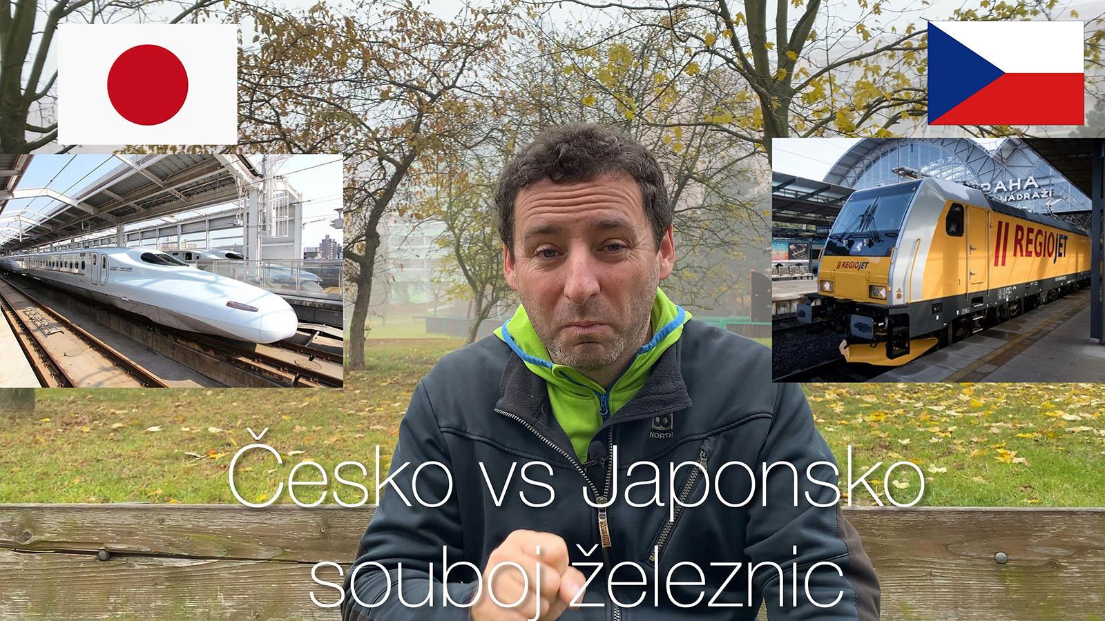 Česko vs Japonsko: souboj železnic