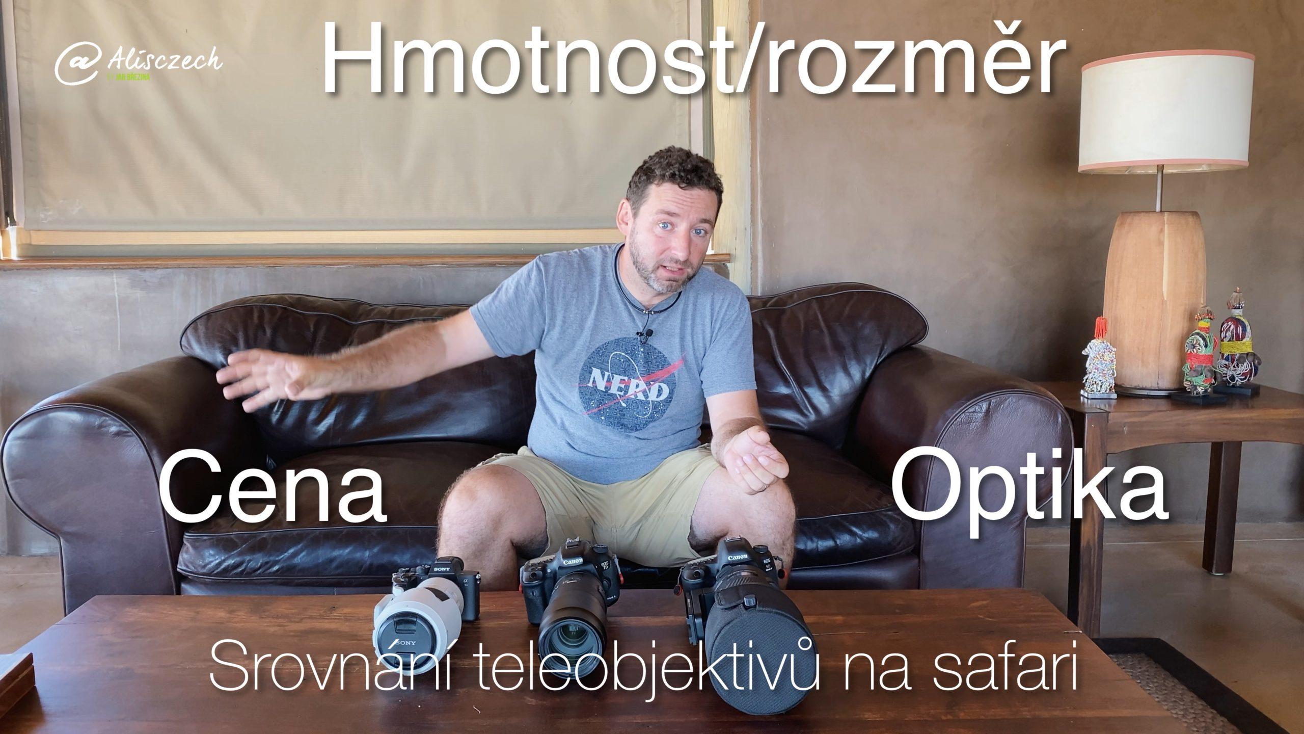 Test teleobjektivů