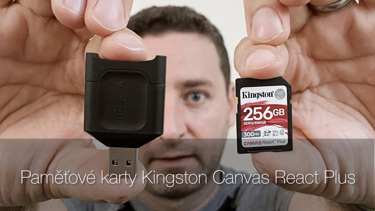 Kingston Canvas React Plus