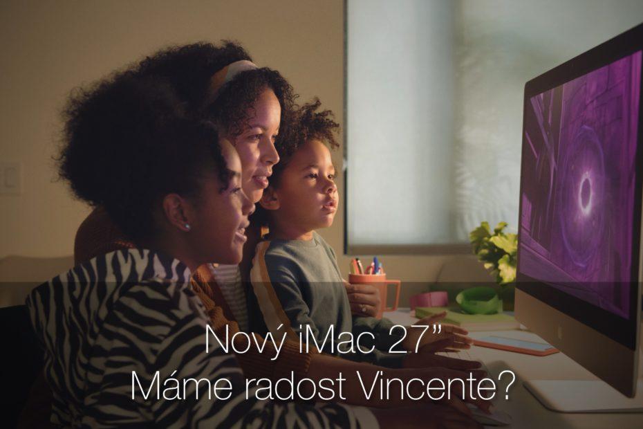 Nový iMac 27 2020