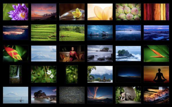 Set 30 fotografií z Bali