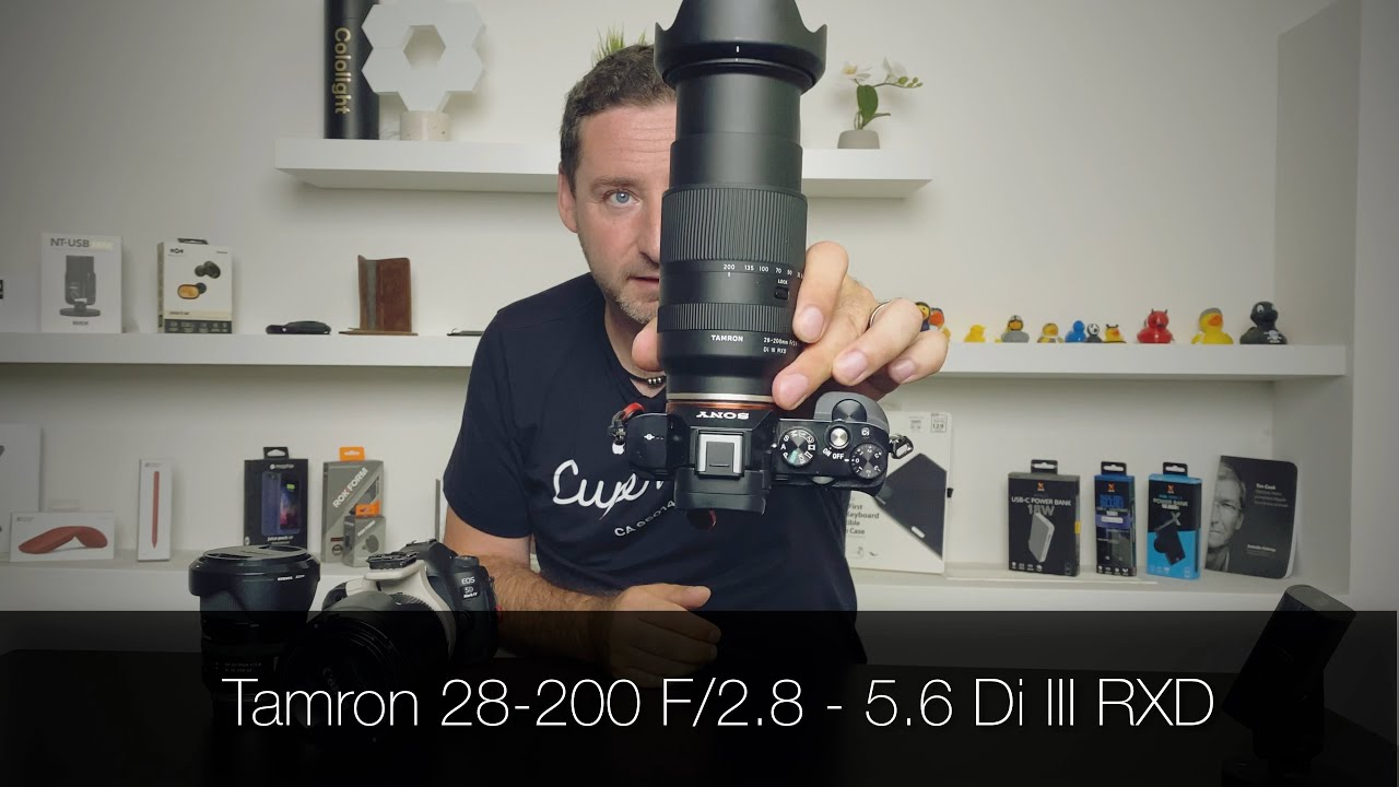 Porazil Tamron 28 - 200 mm F/2.8 - 5.6 Di III RXD fyzikální zákony? [4K] (Alisczech vol. 342)