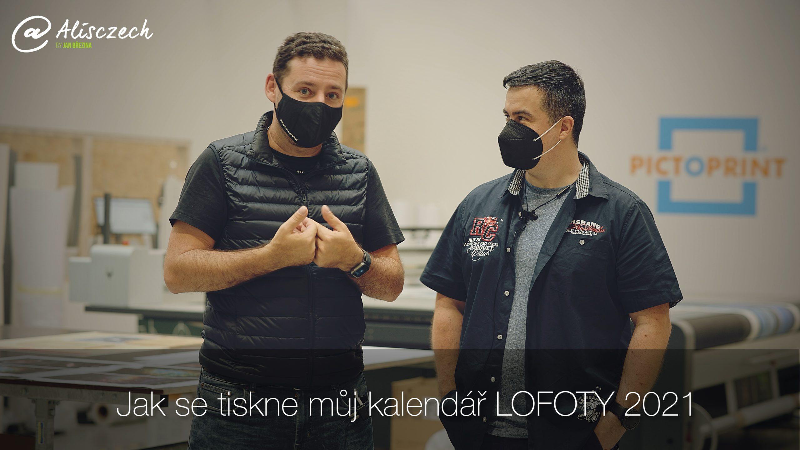 Kalendář Lofoty 2021