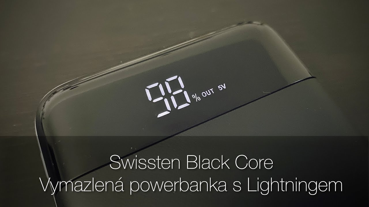 Swissten Black Core