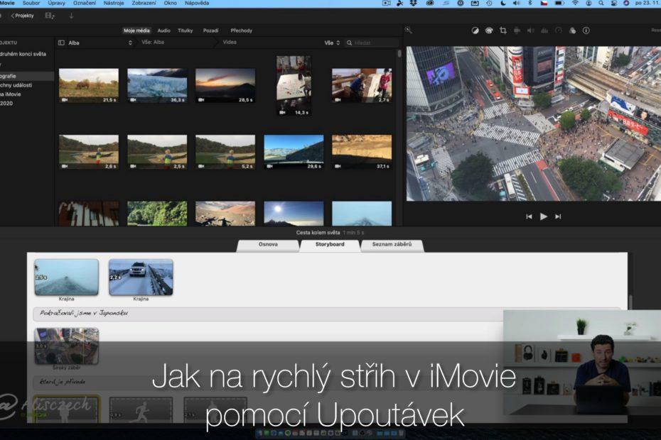 Jak na iMovie - upoutávky