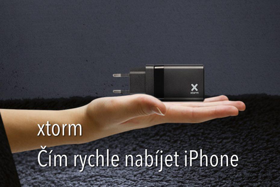 xtorm čím rychle nabíjet iPhone