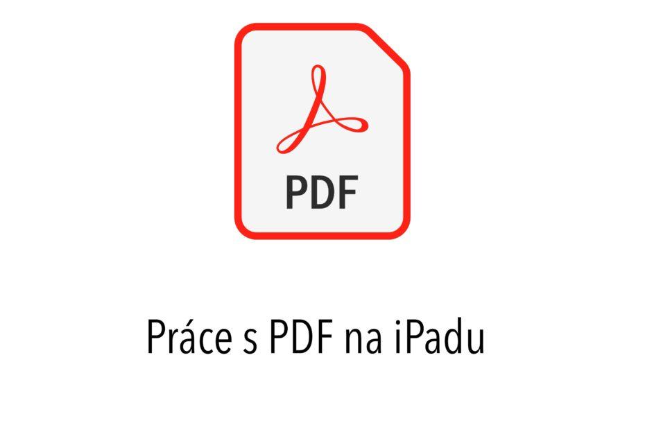 Jak na pdf na iPadu