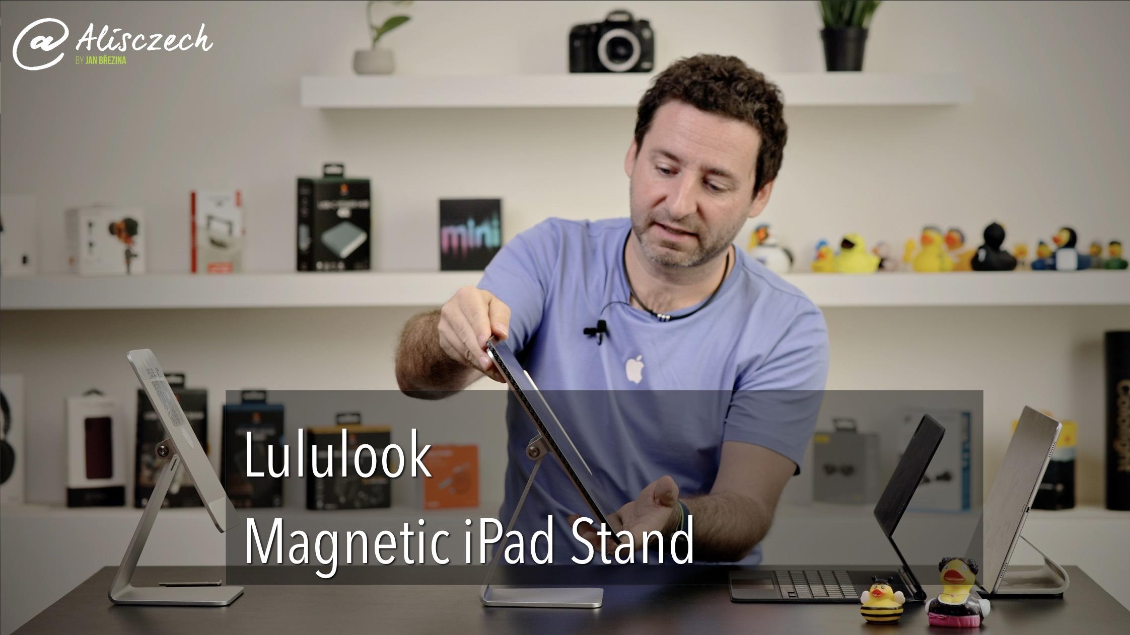 Magnetický stojánek pro iPad od Lululook