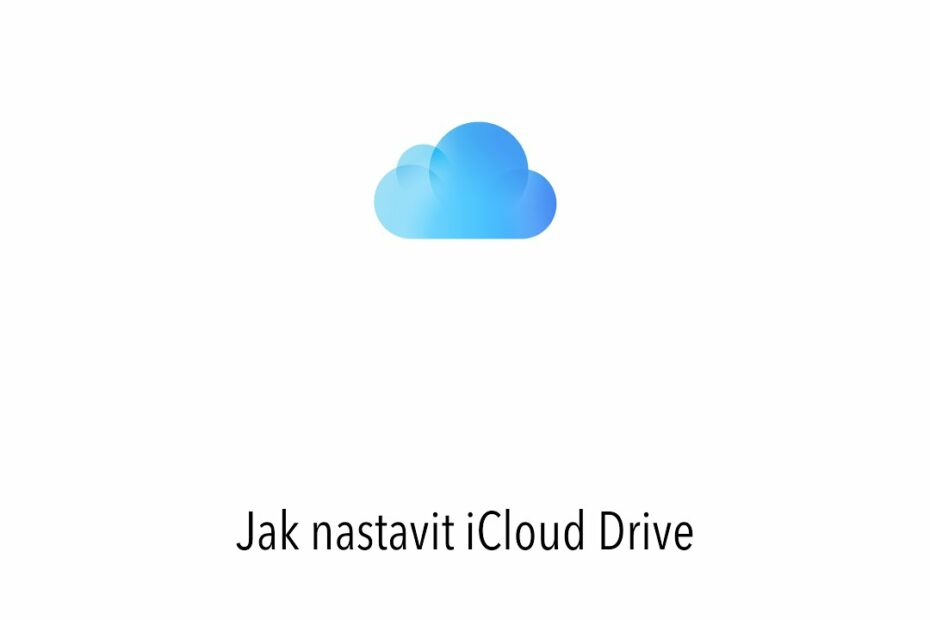 iCloud nastavení